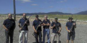 De gauche à droite: Raymond Monnard, Didier Kessi, Sébastien Kessi, Laurent Pache et Alex Fluckiger. Marque Joël Renaud, qui prenait la photo.